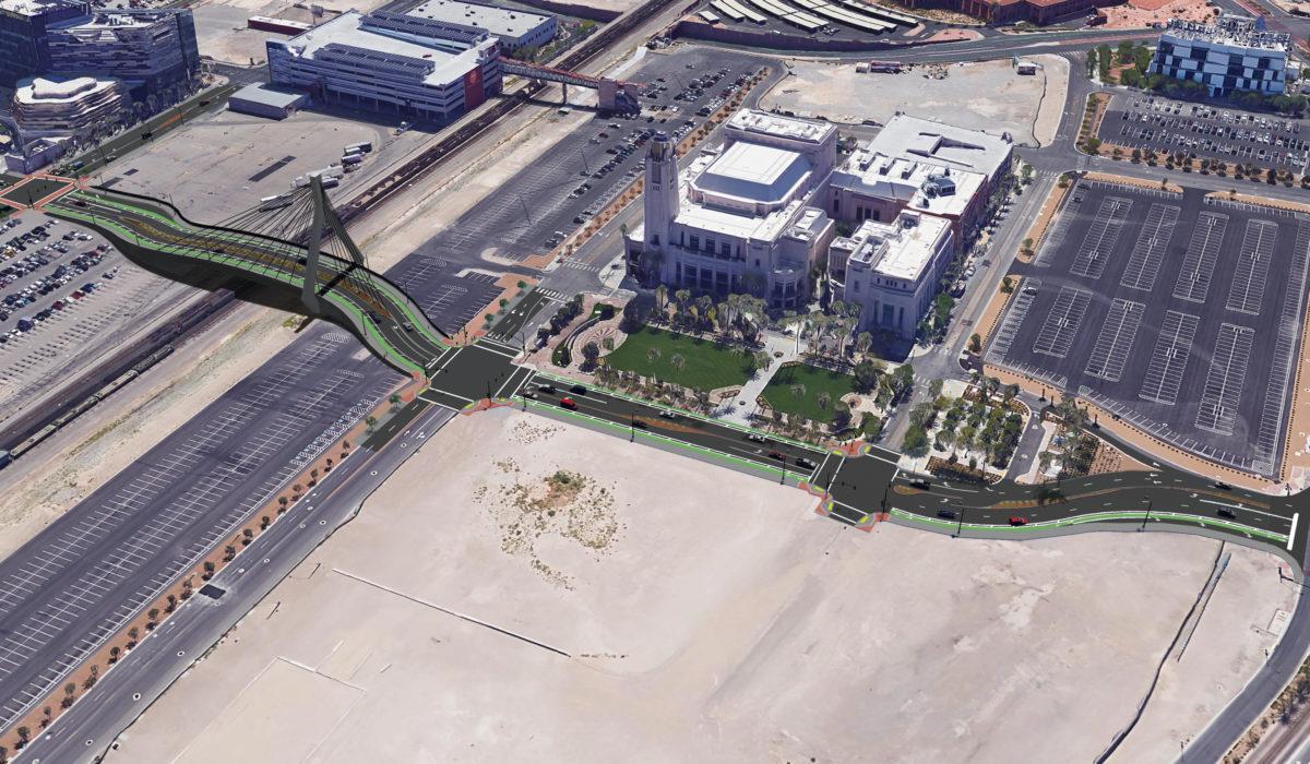 Las Vegas Symphony Park Rendering